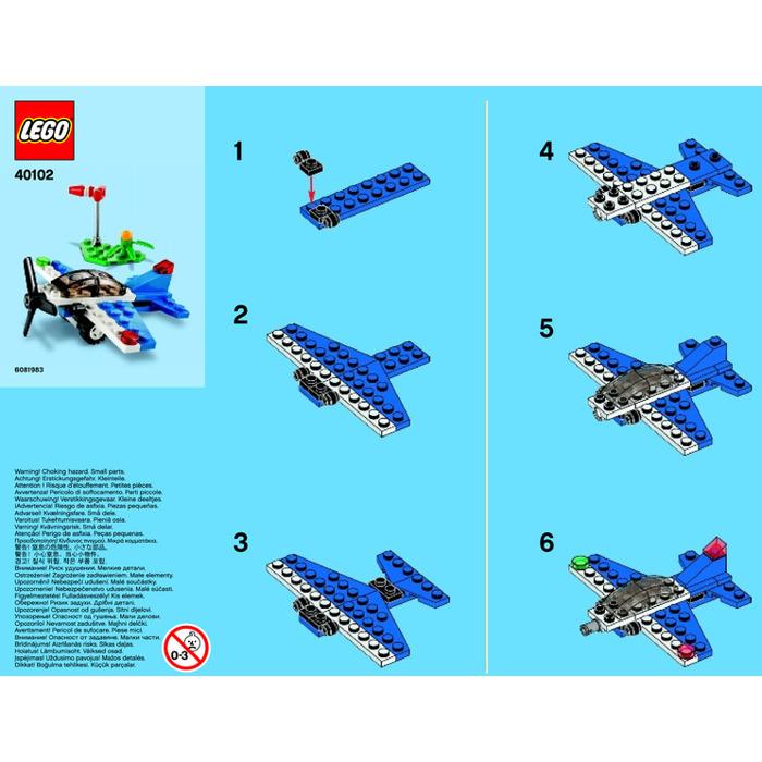 Lego Aircraft Set 40102 Instructions Brick Owl Lego Marketplace