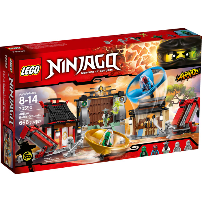 LEGO Airjitzu Battle Grounds Set 70590 | Brick Owl - LEGO ...