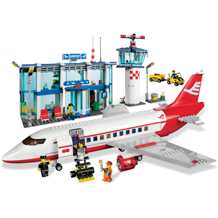 lego airport set 3182 - Lego City Airplane Coloring Pages