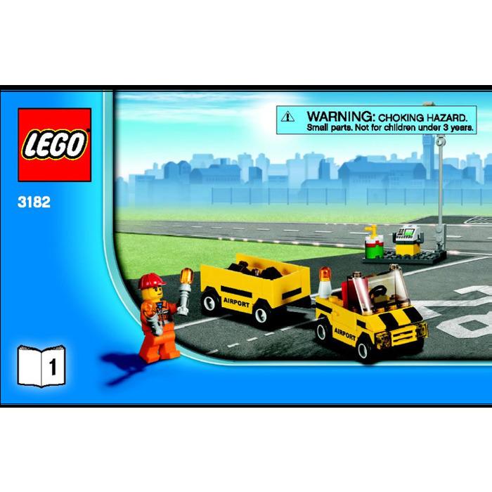 Lego Airport Set 3182 Instructions Brick Owl Lego Marketplace