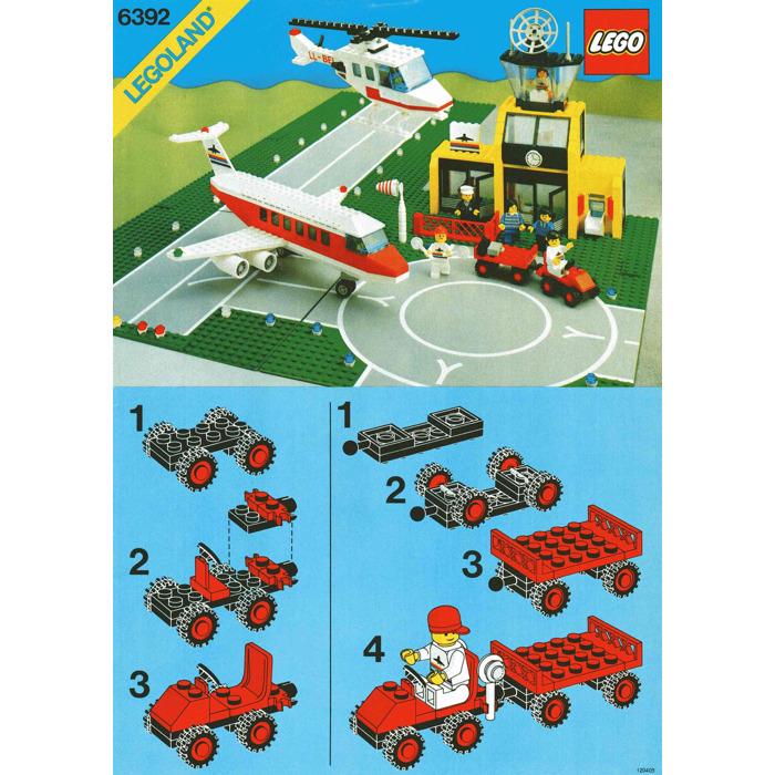 Lego Airport Set 6392 Instructions Brick Owl Lego Marketplace