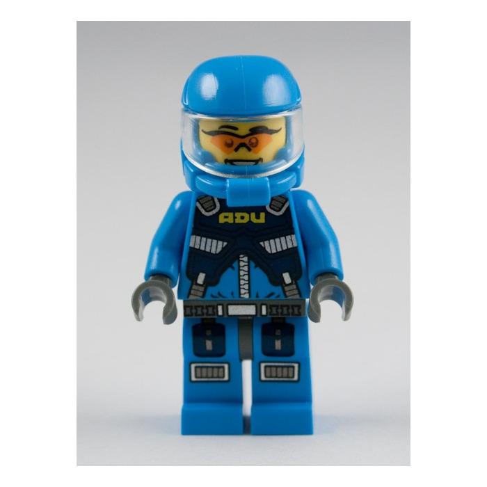 Lego Minifigure Alien Defense Unit Soldier 1 Ac015