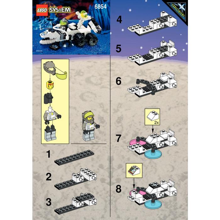 Lego Alien Fossilizer Set 6854 Instructions Brick Owl Lego