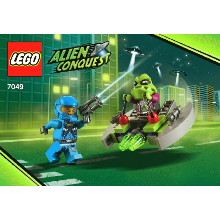 LEGO Alien Striker Set 7049 Instructions