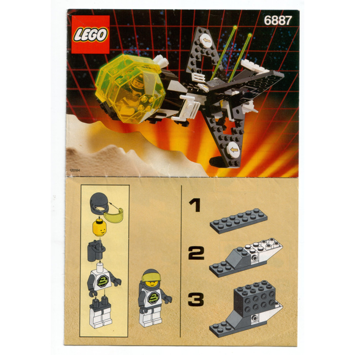 Lego Allied Avenger Set 6887 Instructions Brick Owl Lego Marketplace