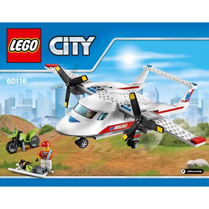 Lego Ambulance Plane Set 60116 Instructions Brick Owl Lego