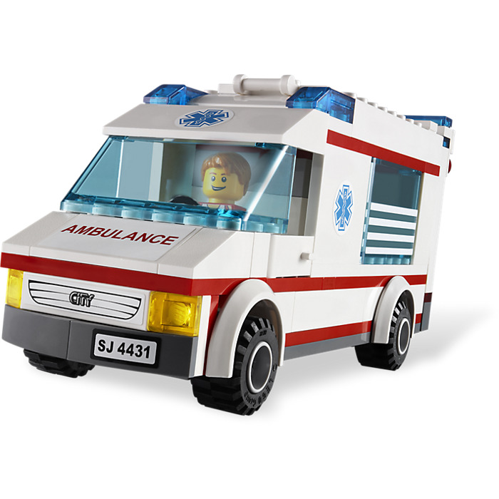 Lego ambulance set 4431 brick owl lego marketplace - Lego ambulance ...