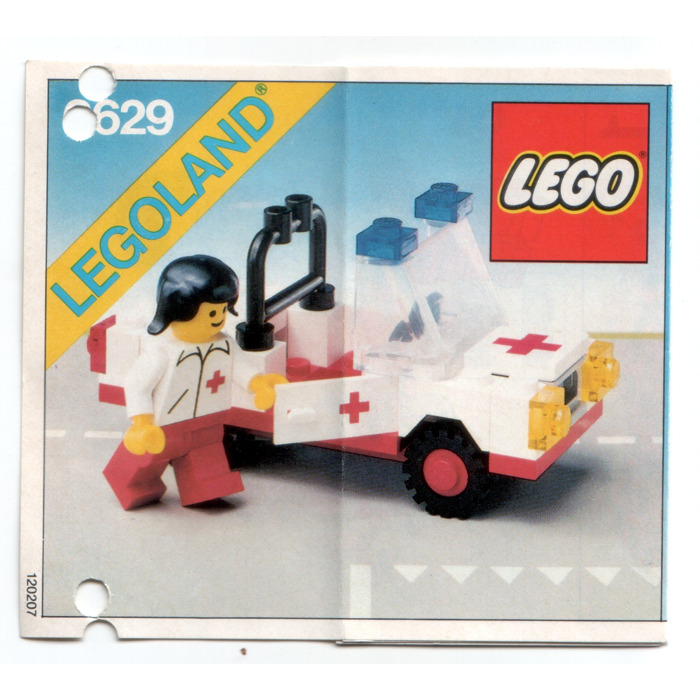Lego Ambulance Set 6629 Instructions Brick Owl Lego Marketplace