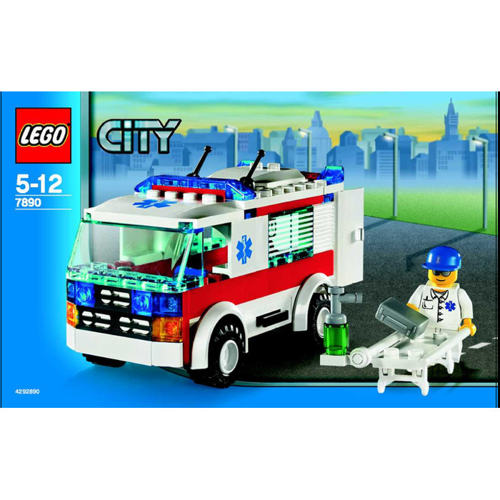 Lego Ambulance Set 7890 Instructions Brick Owl Lego Marketplace