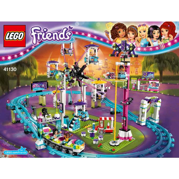 LEGO Amusement Park Roller Coaster Set 41130 Instructions   Brick ...