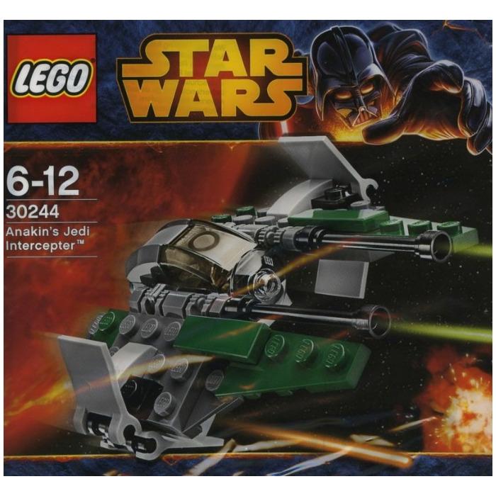 LEGO Anakin's Jedi Interceptor Set 30244 | Brick Owl ...