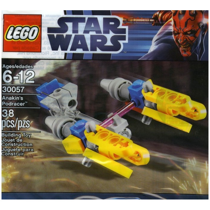 Lego anakin 39 s pod racer set 30057 inventory brick owl - Lego star wars vaisseau anakin ...