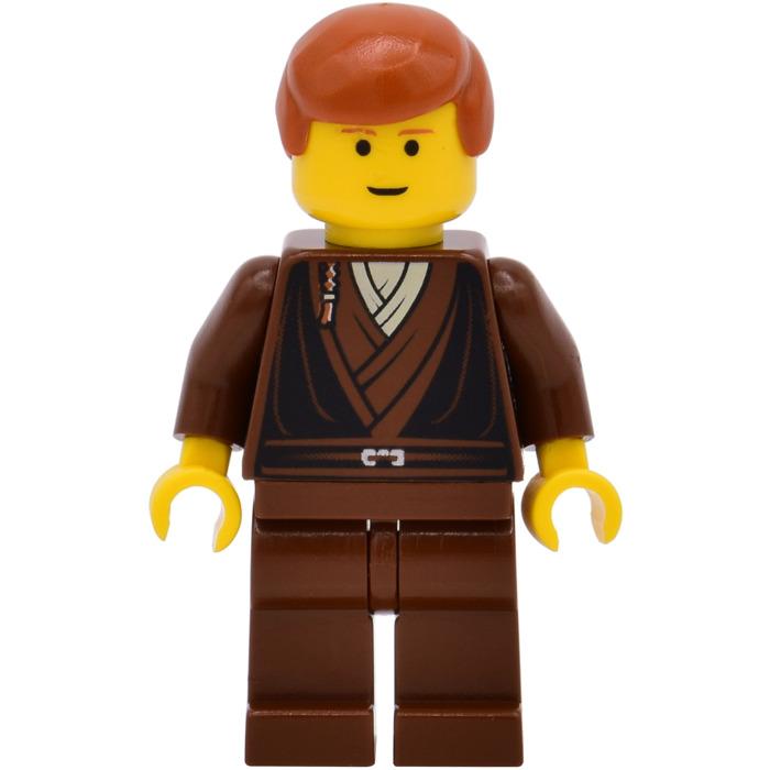 Lego Anakin Skywalker Torso With Padawan Braid 973 Comes