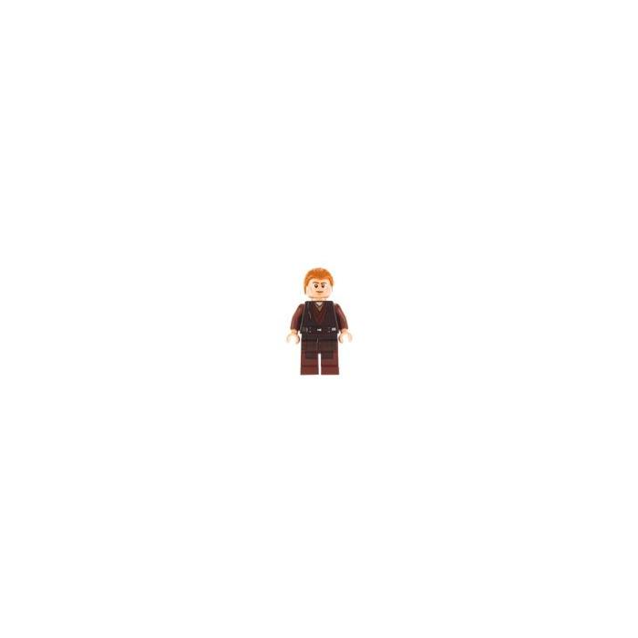 Minifigure w// Dark Blue Jacket Stripe Gray Shirt 10217 4841 LEGO Harry Potter