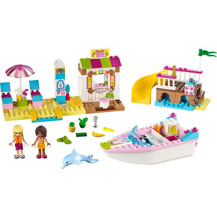 Lego Andrea And Stephanies Beach Holiday Set 10747 Brick Owl
