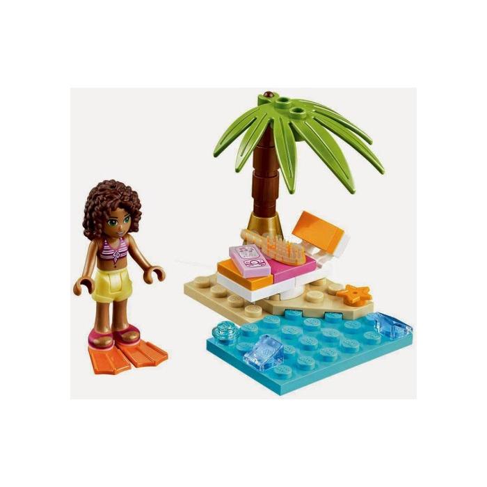 Lego Andreas Beach Lounge Set 30114 Brick Owl Lego Marketplace