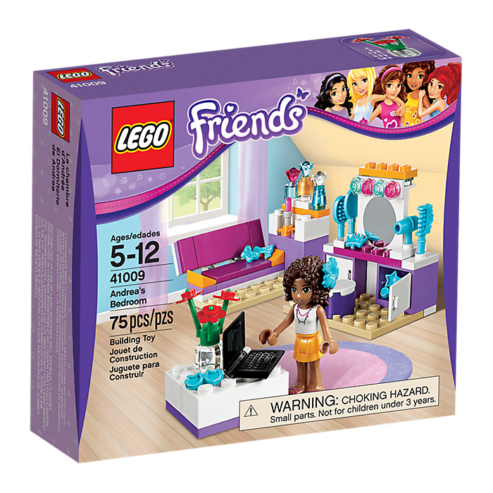 Set 41009 LEGO Andrea 039 s Bedroom  LEGO Andrea s Bedroom Set 41009 Brick  Owl. Lego Bedroom Set   kalecelikkapi24 com