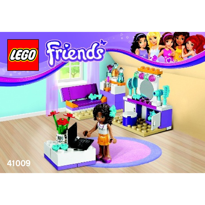 LEGO Andrea s Bedroom Set 41009 Instructions  LEGO Andrea s Bedroom Set  41009 Instructions Brick. Lego Bedroom Set   kalecelikkapi24 com