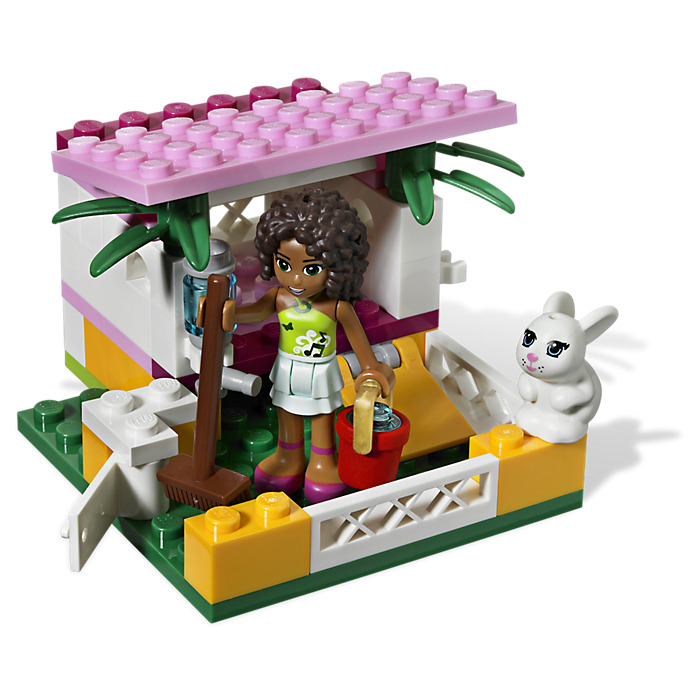 Lego friends house house plan 2017 for Olivia s garden pool instructions
