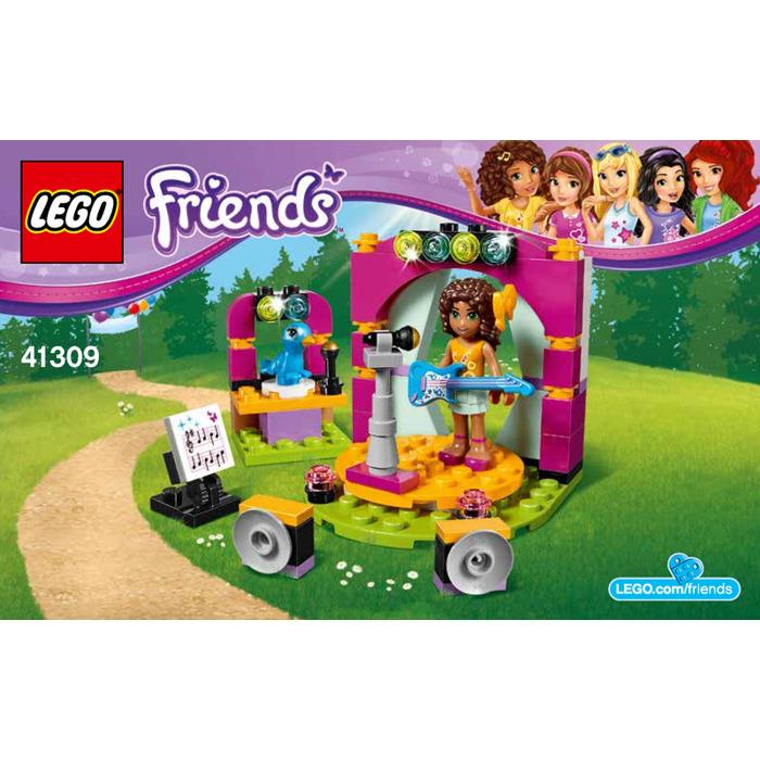 Lego Andreas Musical Duet Set 41309 Instructions Brick Owl Lego
