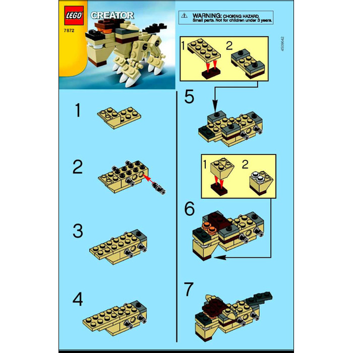 Lego Animal Set 7872 Instructions Brick Owl Lego Marketplace