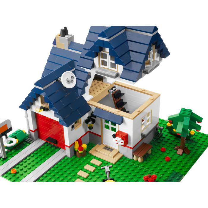 lego apple tree house set 5891 brick owl lego marketplace. Black Bedroom Furniture Sets. Home Design Ideas