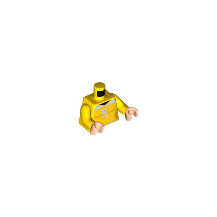Lego April O/'Neil Torso from Set 79105 Teenage Mutant Ninja Turtles NEW