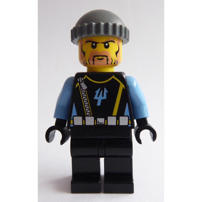 MINIFIGURE PART HEADGEAR 4 x LEGO burglar HAT black /& grey lego city police