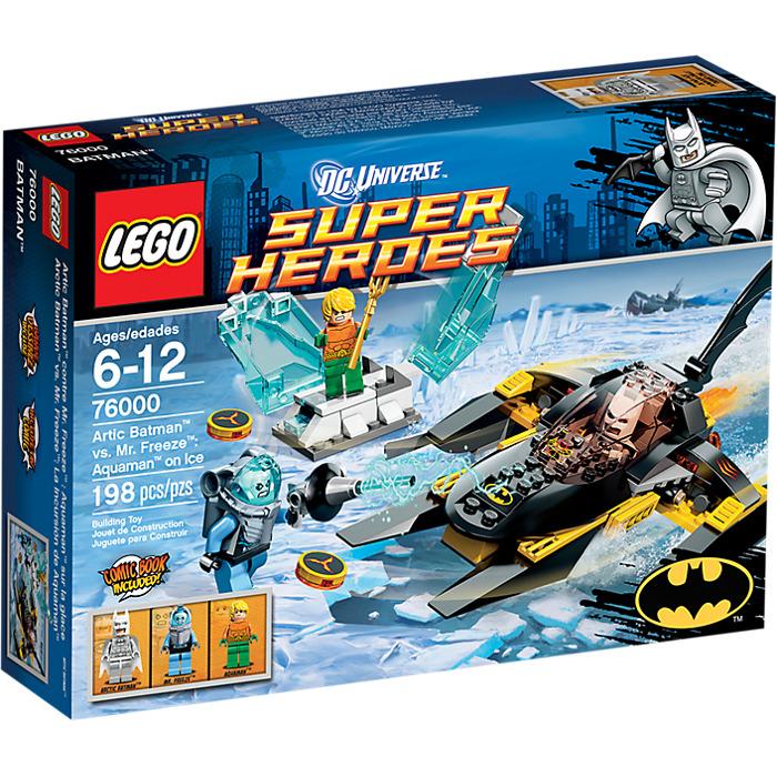 2e951bab3886 LEGO Arctic Batman vs. Mr. Freeze  Aquaman on Ice Set 76000