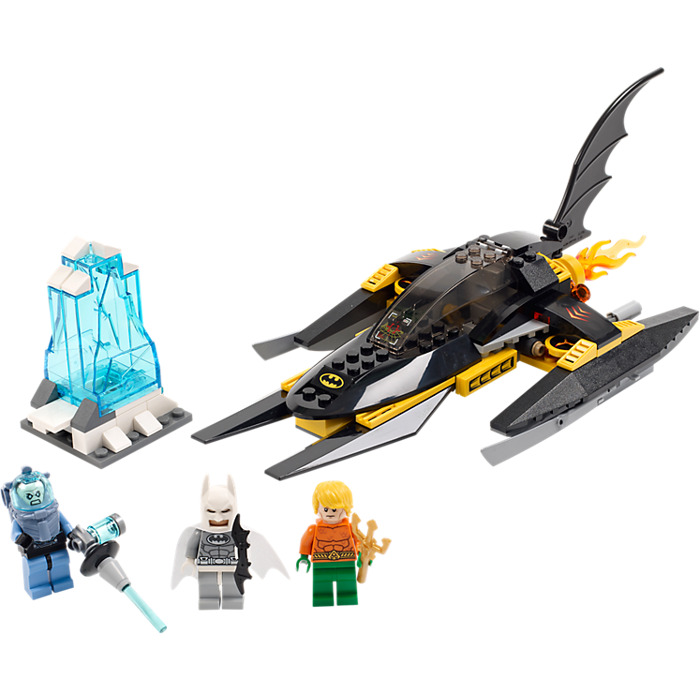 LEGO Arctic Batman vs. Mr. Freeze: Aquaman on Ice Set 76000 | Brick ...