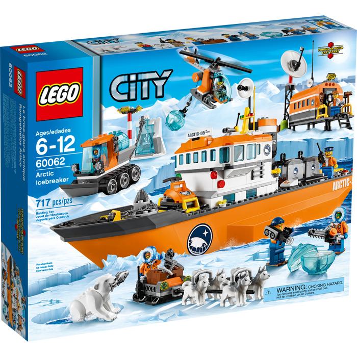 Lego arctic icebreaker set 60062 brick owl lego marketplace - Image lego city ...