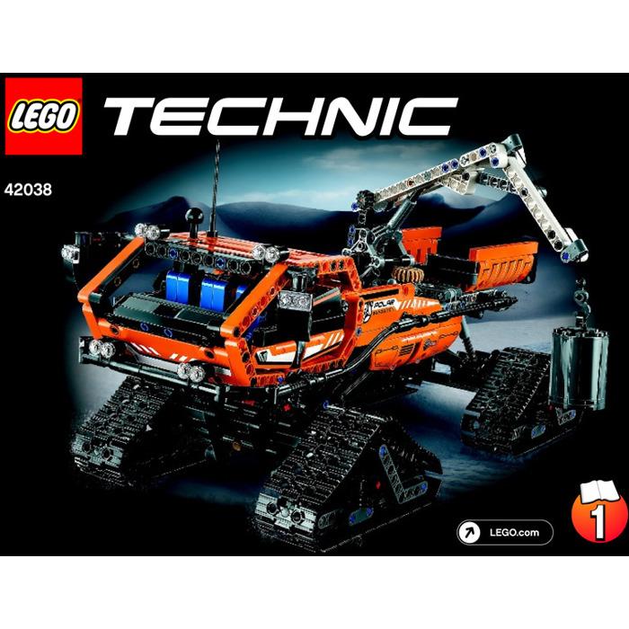 Lego Arctic Truck Set 42038 Instructions Brick Owl Lego Marketplace