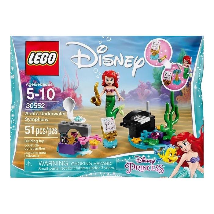 little mermaid lego instructions