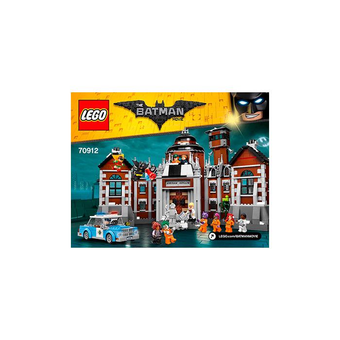 Lego Arkham Asylum Set 70912 Instructions Brick Owl Lego Marketplace