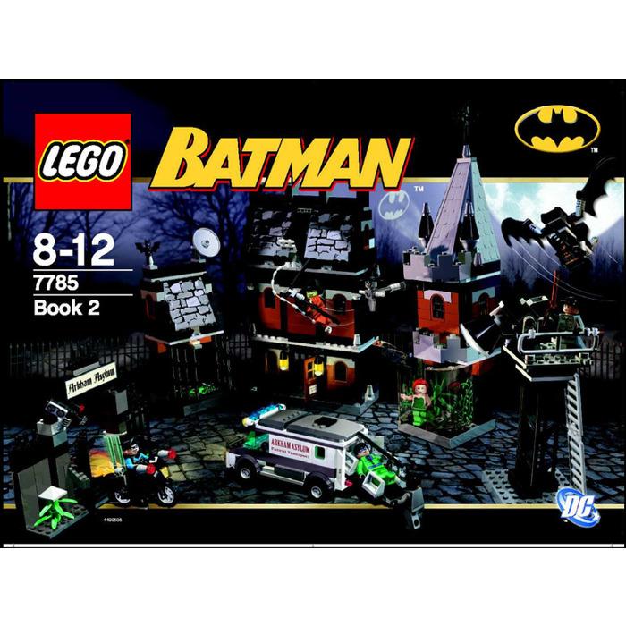 Lego Arkham Asylum Set 7785 Instructions Brick Owl Lego Marketplace