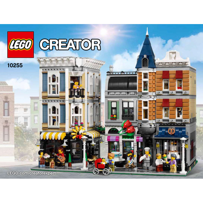 Lego Assembly Square Set 10255 Instructions Brick Owl Lego