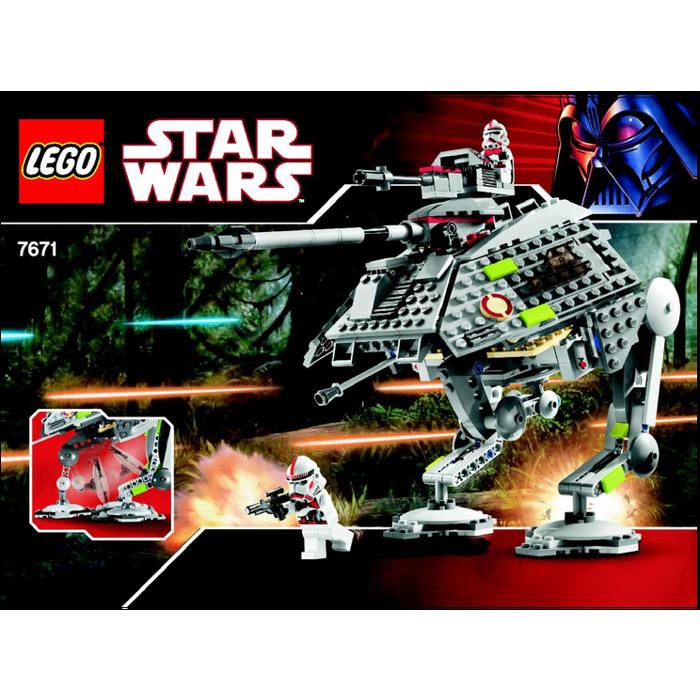 Lego At Ap Walker Set 7671 Instructions Brick Owl Lego Marketplace