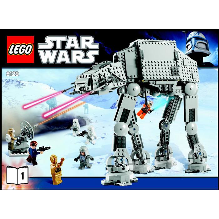 Lego At At Walker Set 8129 Instructions Brick Owl Lego Marketplace