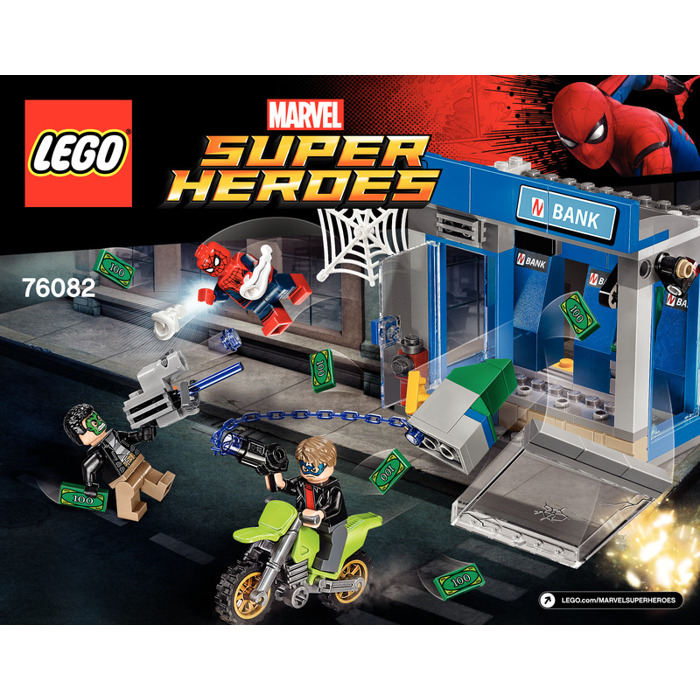 Lego atm heist battle set 76082 instructions brick owl for Siege lego france