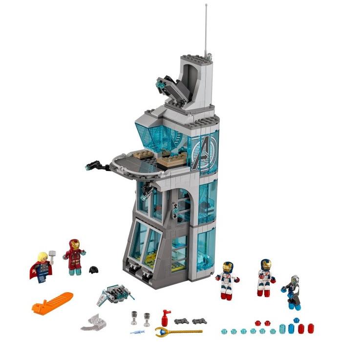 lego avengers tower instructions
