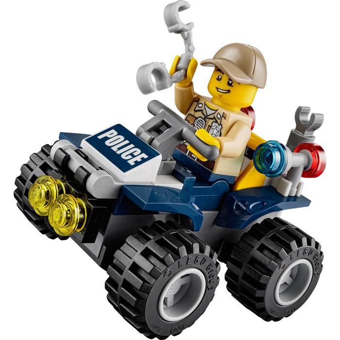 lego police atv instructions