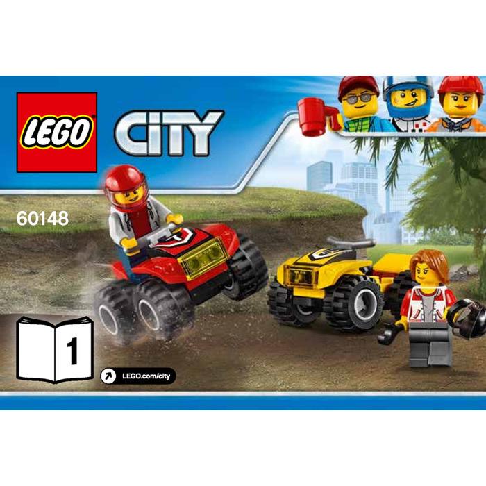 LEGO ATV Race Team Set 60148 Instructions