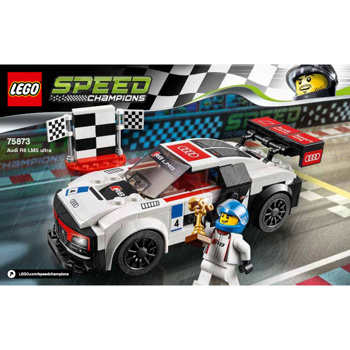 LEGO Audi R8 LMS Ultra Set 75873 Instructions