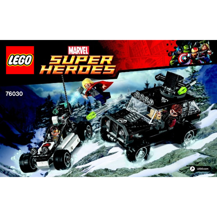 LEGO Avengers Hydra Showdown Set 76030 Instructions ...