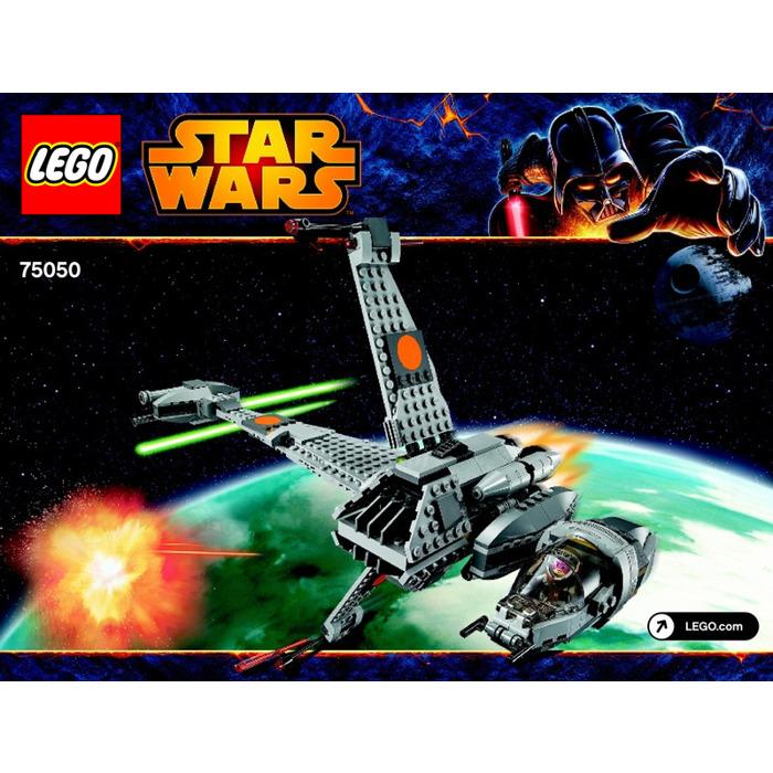 Lego B Wing Set 75050 Instructions Brick Owl Lego Marketplace