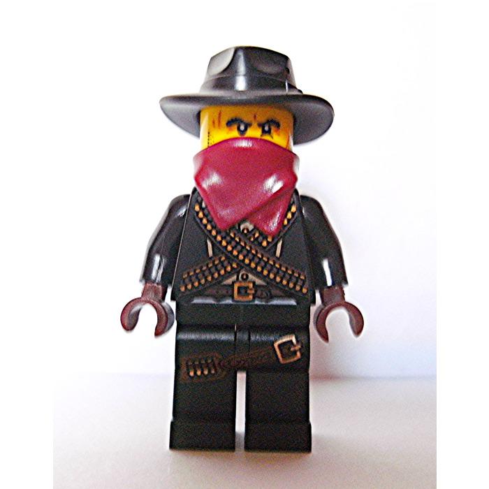 Part 61506 Minifigure Headgear Lego® Black Fedora Cowboy Hat
