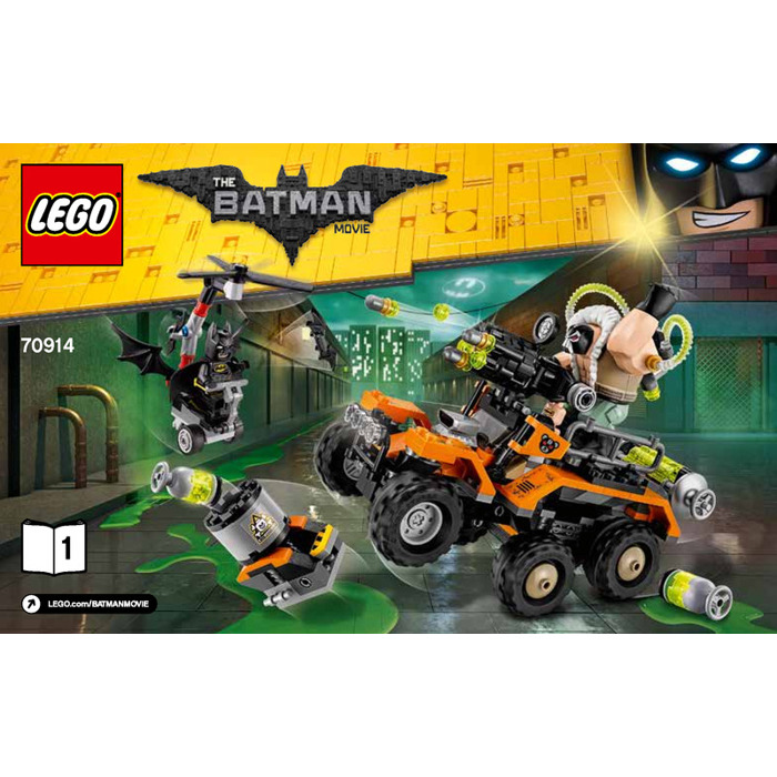 Lego Bane Toxic Truck Attack Set 70914 Instructions Brick Owl