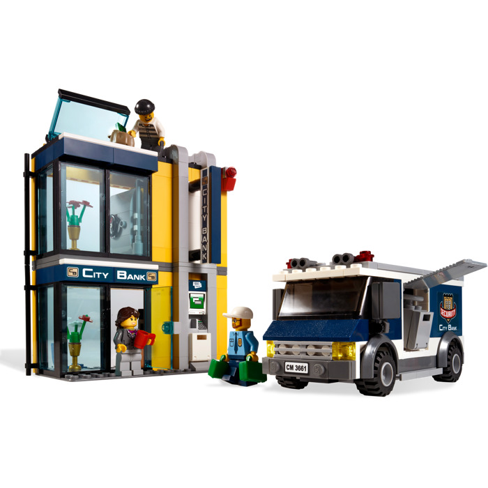 Lego Bank Money Transfer Set 3661 Brick Owl Lego Marketplace