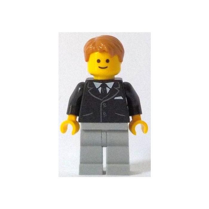 LEGO Bank Secretary Minifigure without Side Lines   Brick Owl - LEGO ...