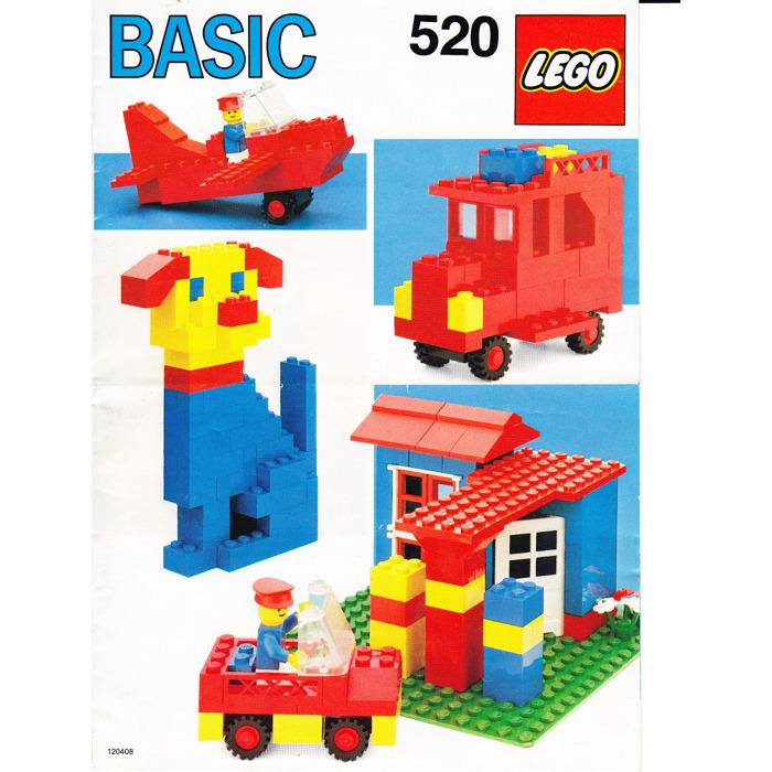 Lego Basic Building Set 5 Set 520 1 Instructions Brick Owl